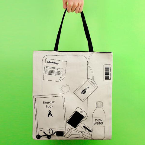 Farm Singapore Design - Chapalang Tote Book