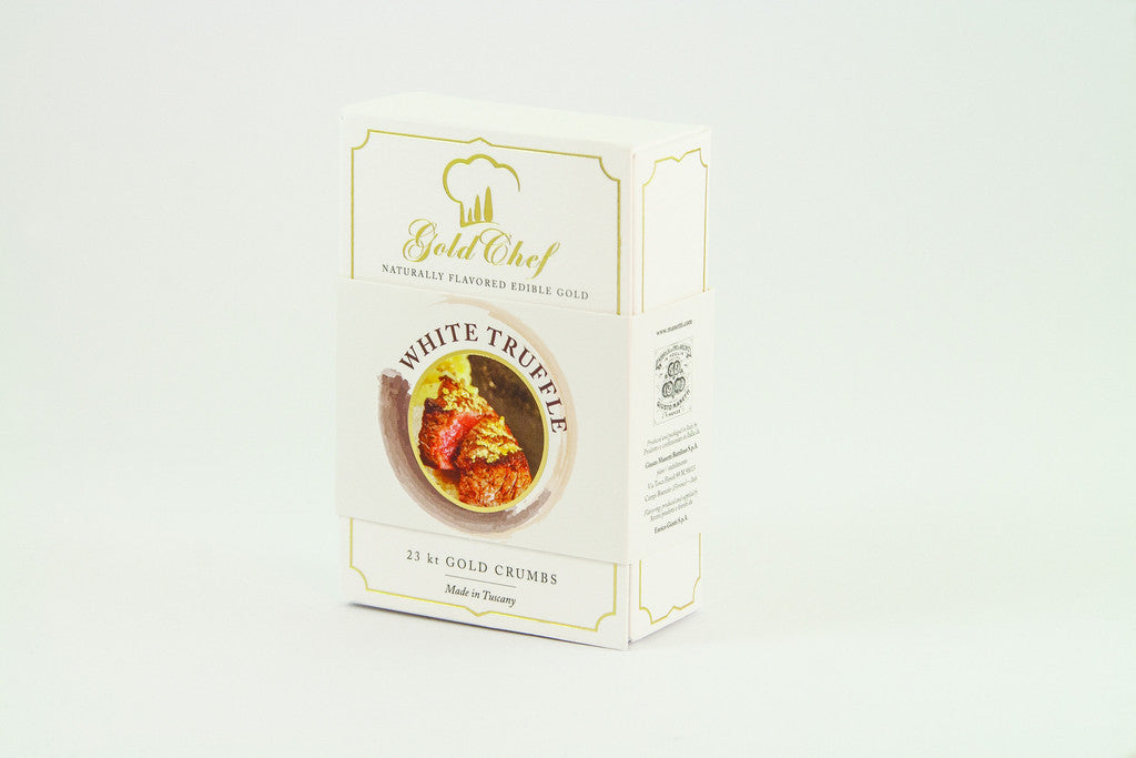 Manetti - Gold Chef White Truffle Flavoured Edible Gold Crumbs