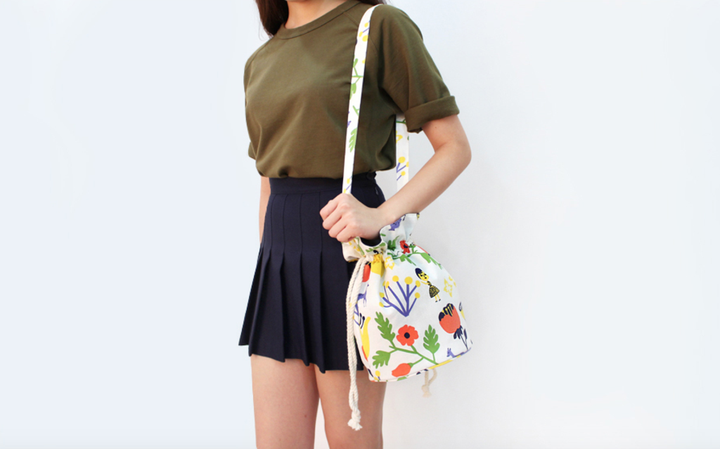 Ooh La La! - Aurore and Deer Bucket Bag