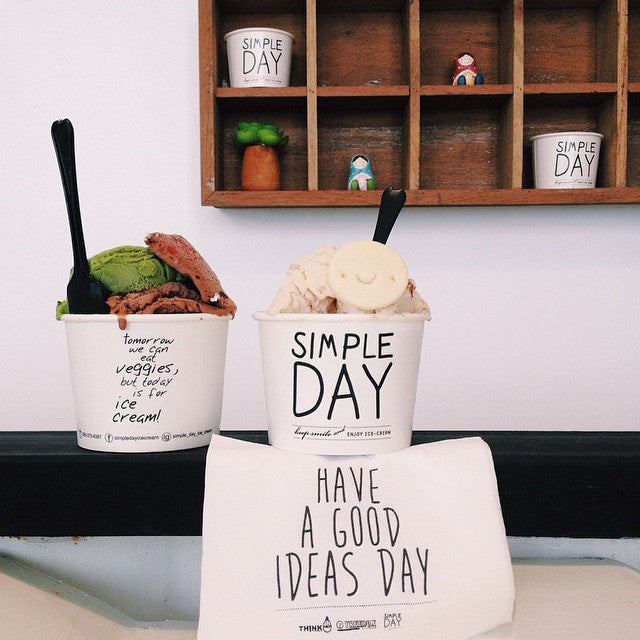 Simple Day Ice cream parlour - Naiise.com