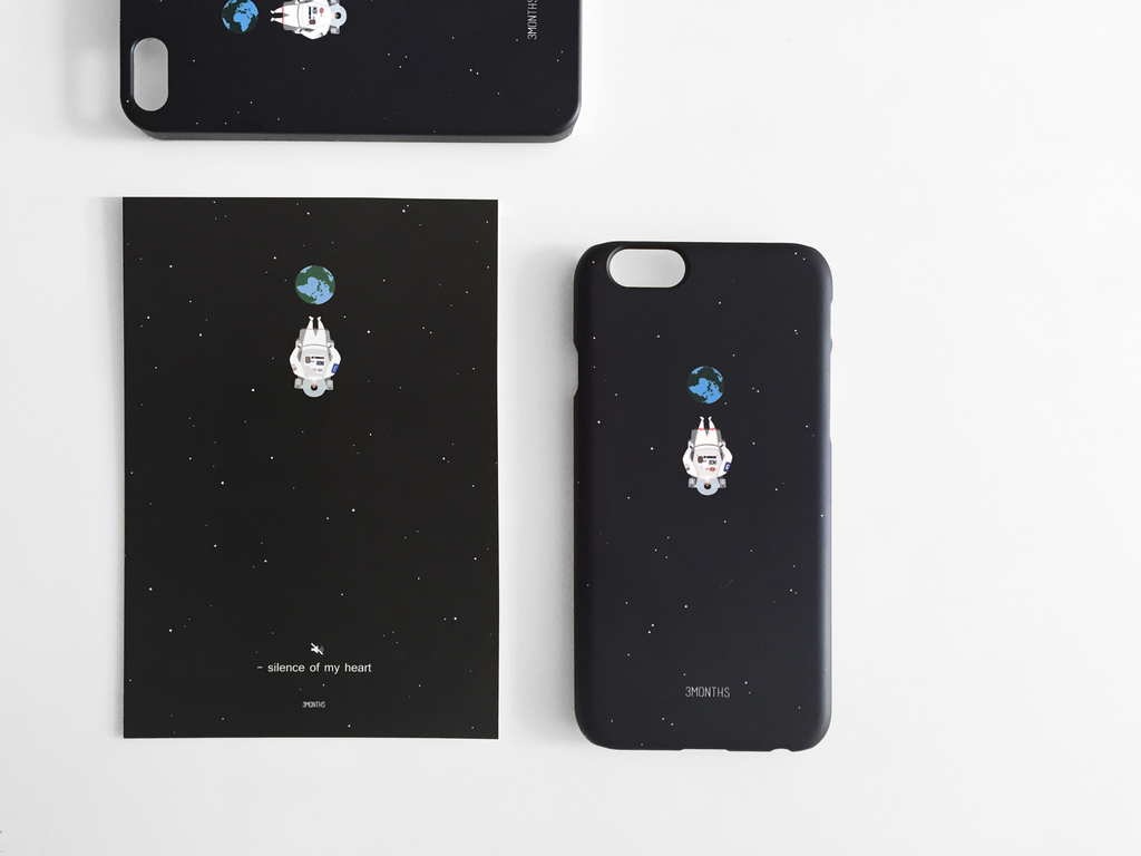 3MONTHS Space Phone Case - Naiise.com