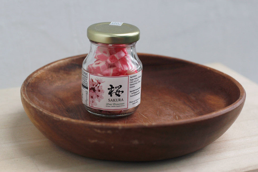 Sweet Enchantment - Kyoto Sakura Cherry Blossoms Handmade Candies