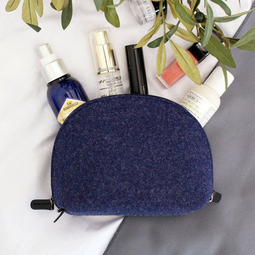 Indigo The Basic Felt v.3 Round Pouch