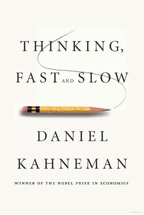 Daniel Kahneman Thinking Fast and Slow - Naiise.com