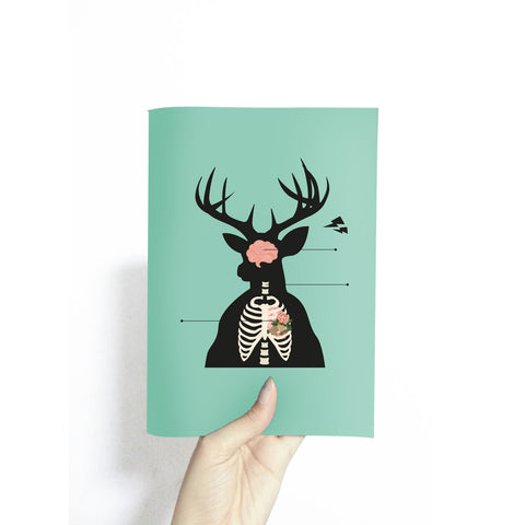 Ultraviolets Kimberly Tan Singapore - Reindeer Anatomy Sketchbook