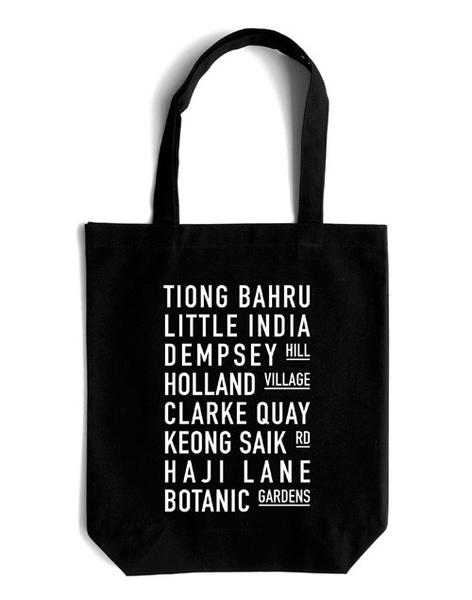 1c610a0a40 On this tote bag are some places that you probably have brought your  foreign friend as part of your Singapore tour itinerary. Gift them a  fragment of their ...