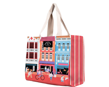 SG Shophouse Travel Tote Bag Local Tote Bags Chalo