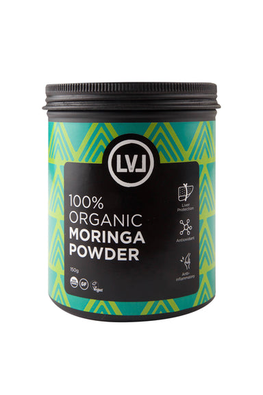 100% Moringa Powder - 150g - Health Food - LVL - Naiise