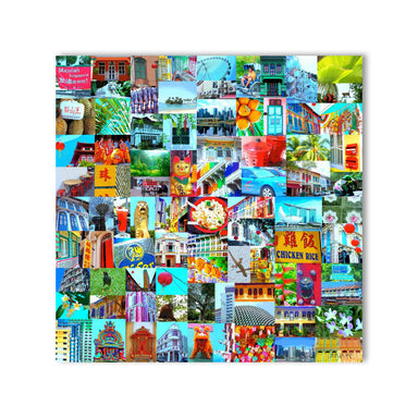 100X Singapore Wall Art - New Arrivals - MB Art - MemoryBoards - Naiise