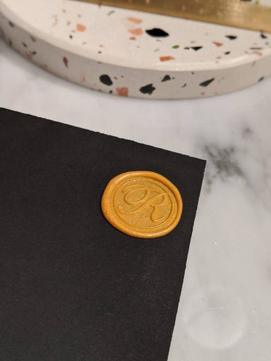 The Flip Book - Personalised Initials (Wax Seal - 5 Colours) - Personalised Notebooks - Naiise - Naiise