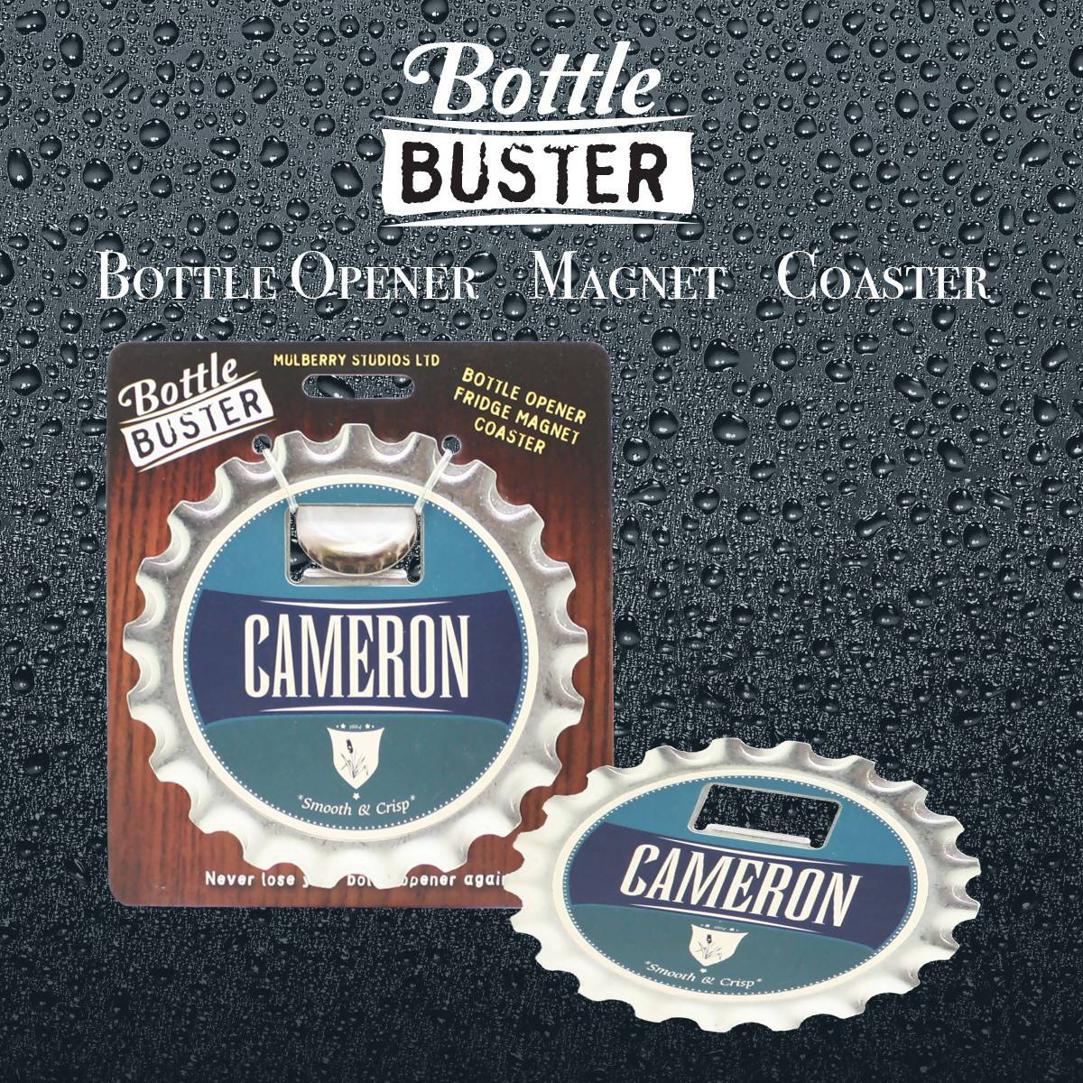 BOTTLE BUSTER - Best Bottle Opener : Cameron - Bottle Openers - La Belle Collection - Naiise
