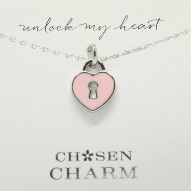 CHOSEN CHARMS - For Special One : Lock - Charms - La Belle Collection - Naiise