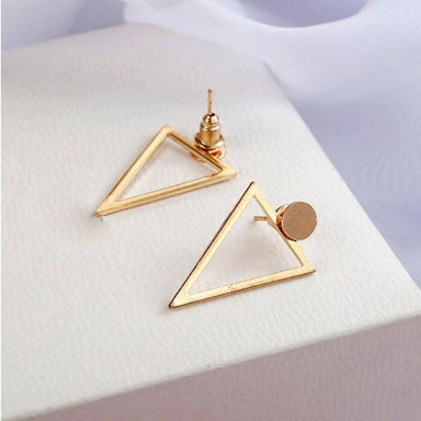 Hollow Out Triangle Earrings - Earrings - Whispers & Anarchy - Naiise