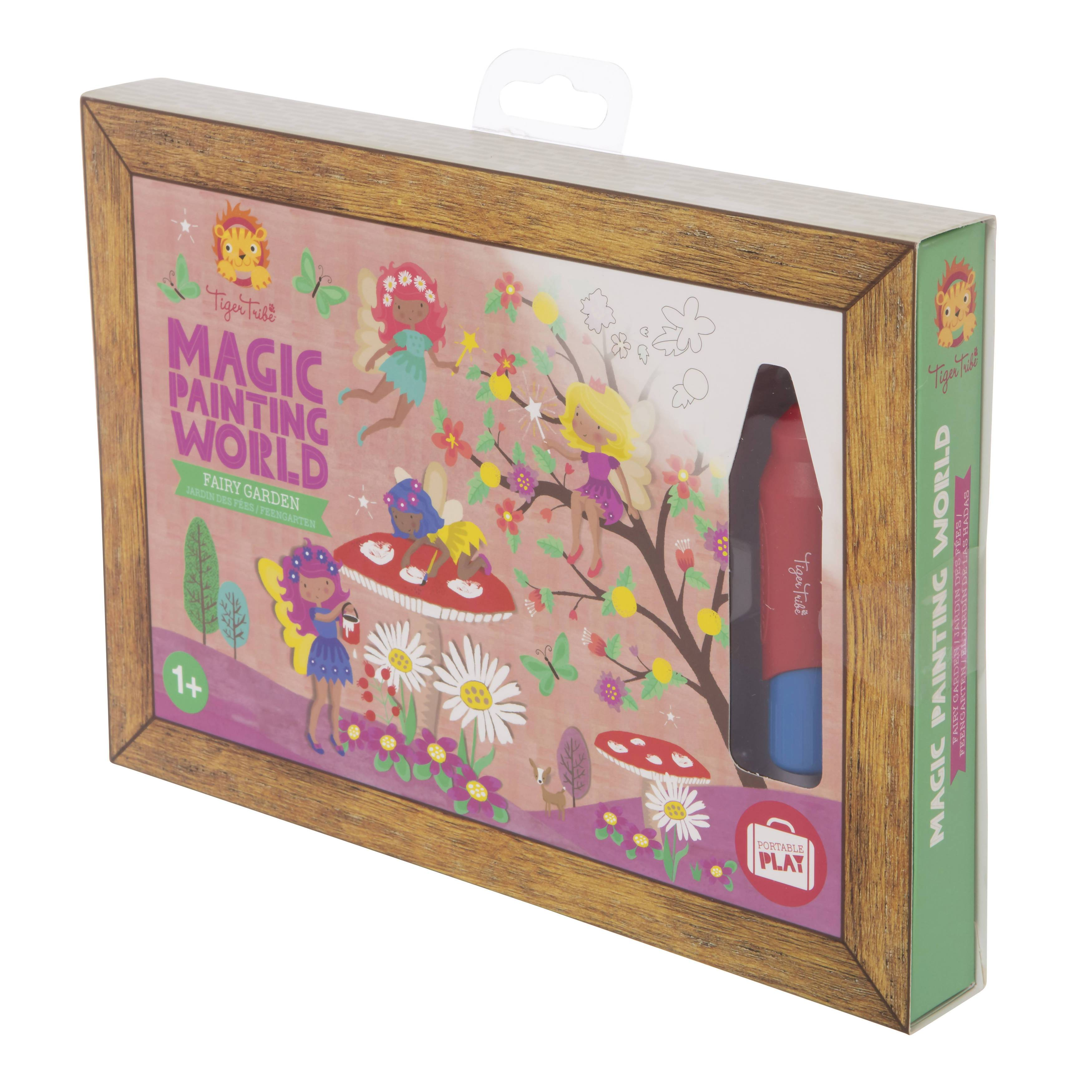Tiger Tribe Magic Painting World - Fairy Garden - Children Colouring Books - The Children's Showcase - Naiise