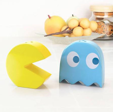 Balvi Salt & Pepper Set - Pac-man Ceramic - Kitchenware - The Planet Collection - Naiise
