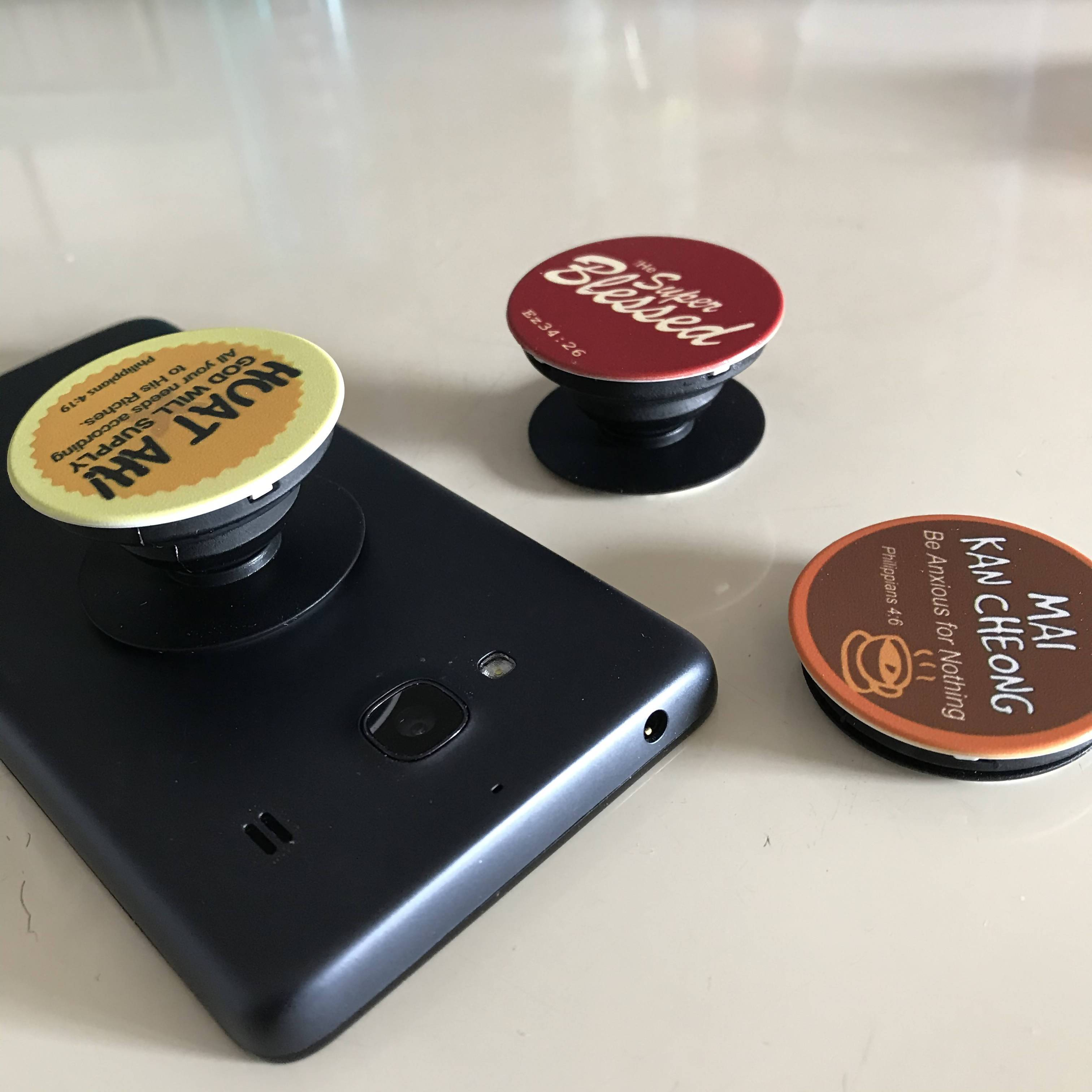 Pop Sockets for Mobile Phones- Super Blessed - Phone Accessories - The Super Blessed - Naiise