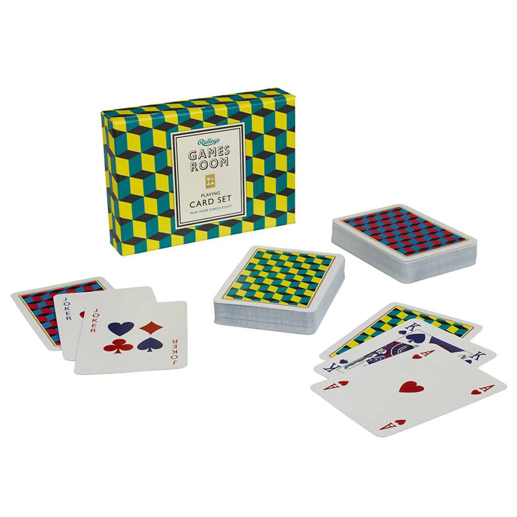 Ridley's Playing Cards - Card Games - The Planet Collection - Naiise