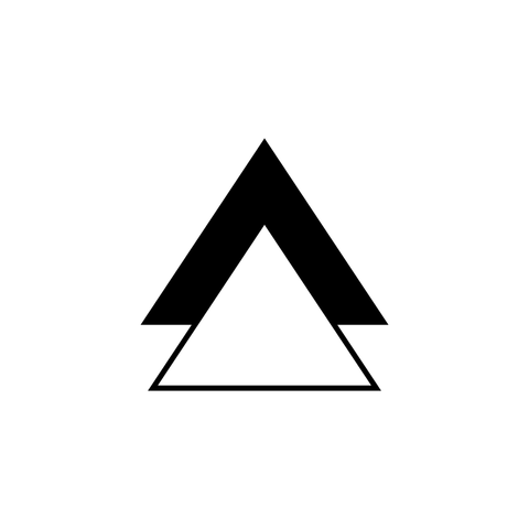 Two-Triangle Temporary Tattoo