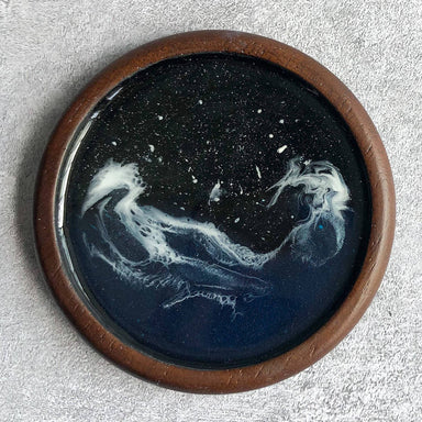 Nautical Dusk Resin Coaster - Coasters - Coxo Vanessa - Naiise