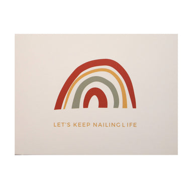 Let's Keep Nailing Life Card - Postcards - Nails & Good Company - Naiise
