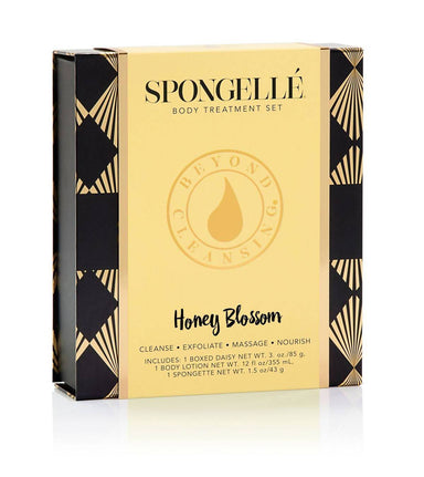 Boxed Flower Gift Set | Honey Blossom - Beauty Gift Sets - Spongellé - Naiise