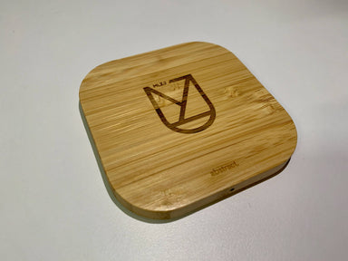 Personalised Wooden Wireless Charger – With Micro USB Cable - Personalised Chargers - Abstract - Naiise