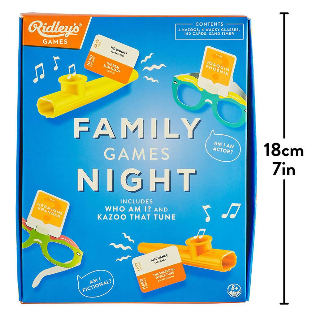 Ridley's Family Games Night - Games - The Planet Collection - Naiise