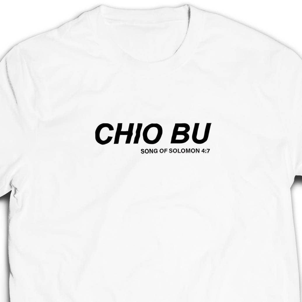 Chio Bu Tshirt Unisex (White) - I'm a Singaporean Christian Lah! Series - Local T-shirts - The Super Blessed - Naiise