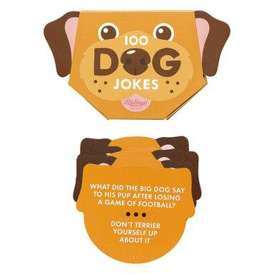 Ridley's 100 Dog Jokes - Card Games - The Planet Collection - Naiise