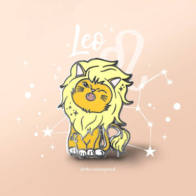 Leo Pin - Brooches - The Cat Inspired - Naiise