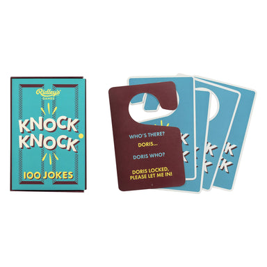 Ridley's 100 Knock Knock Jokes - Card Games - The Planet Collection - Naiise