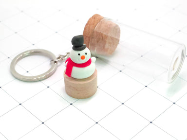 Snowman Keychain - Gift Sets - YOUNIVERSE DESIGN - Naiise