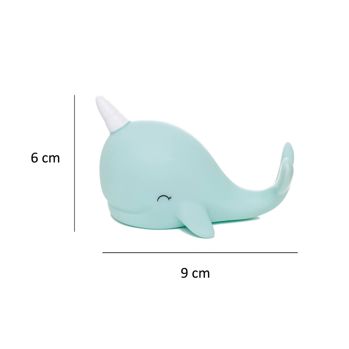Dhink Mini Night Lights Narwhal - Night Lights - Zigzagme - Naiise