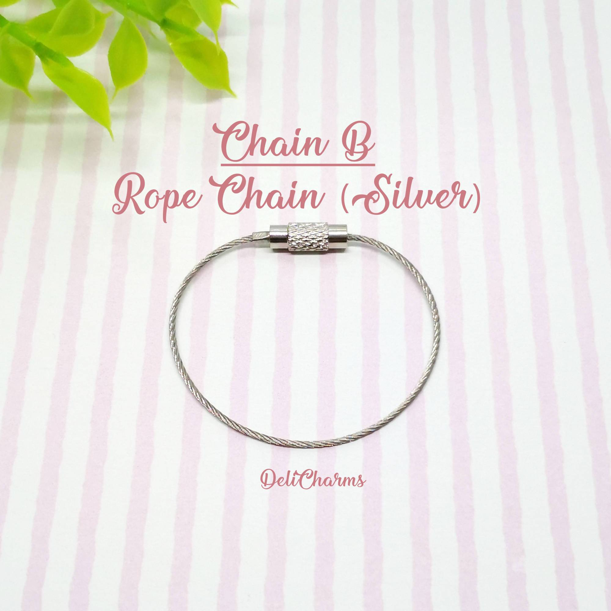 Rope Chains for Charms