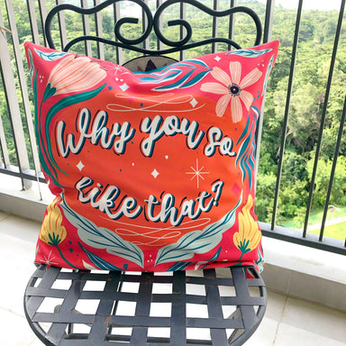 Cushion Cover - Singlish - Local Cushion Covers - Changi Chowk - Naiise