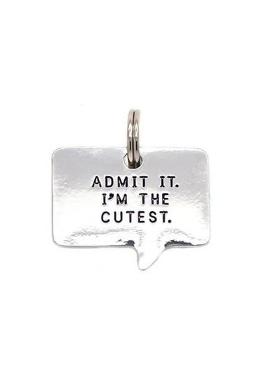 Lucky Feather - Admit It Pet Tag - Pet Accessories - The Planet Collection - Naiise
