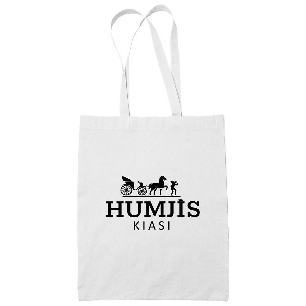 Humjis Cotton Tote Bag Local Tote Bags Wet Tee Shirt / Uncle Ahn T / Heng Tee Shirt / KaoBeiKing Canvas Square CanvasnUnbleachedn31cm X 33cm