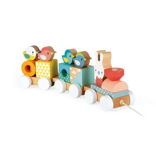 Pure Train Wooden Toy Kids Toys The Children's Showcase