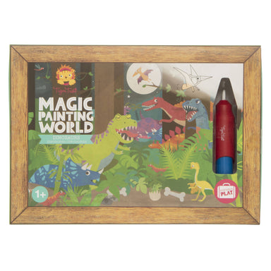 Tiger Tribe Magic Painting World - Dinosaurs - Children Colouring Books - The Children's Showcase - Naiise