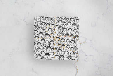 All Occasion Faces Wrapping Papers - Bundle of 5 - Wrapping Papers - We Are Too Late - Naiise