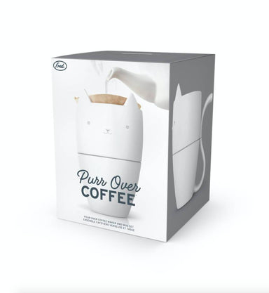 Fred Purr Over Coffee - Coffee Press - The Planet Collection - Naiise