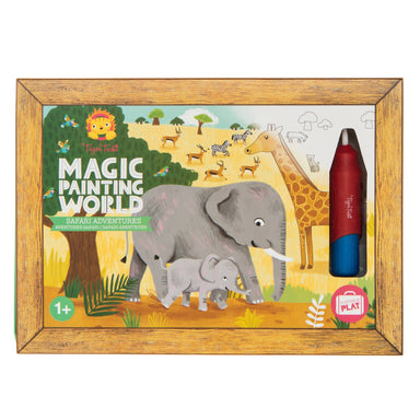 Tiger Tribe Magic Painting World - Safari Adventures - Children Colouring Books - The Children's Showcase - Naiise