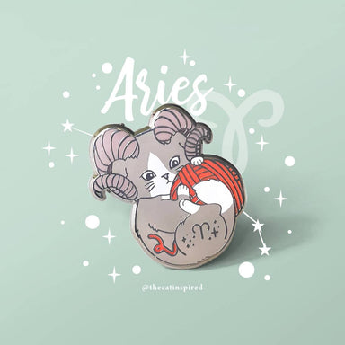 Aries Pin - Brooches - The Cat Inspired - Naiise