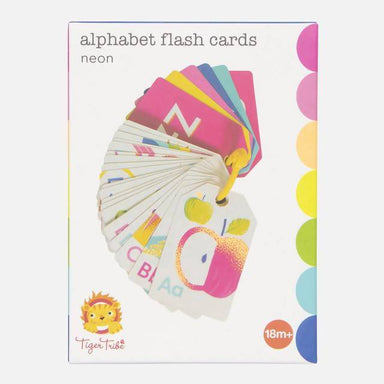 FLASH CARDS ALPHABET - NEON Kids Activity Kits The Children's Showcase