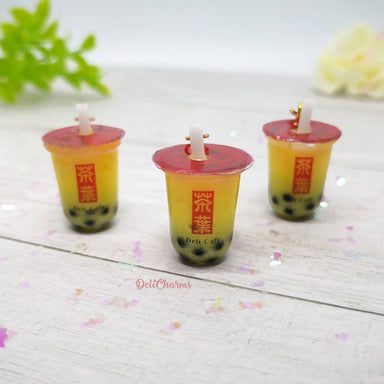 Mango Bubble Tea Charm - Charms - Deli Charms - Naiise