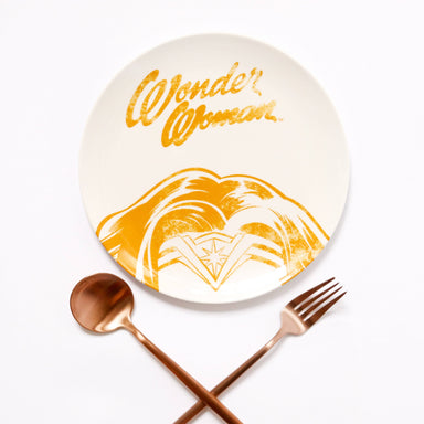 Wonder Woman Melamine Plate Plates Ok Can Lah