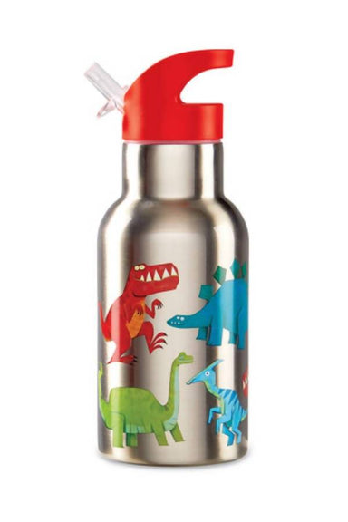 Crocodile Creek Stainless Bottle - Dinosaur - Kids Bottles - The Children's Showcase - Naiise