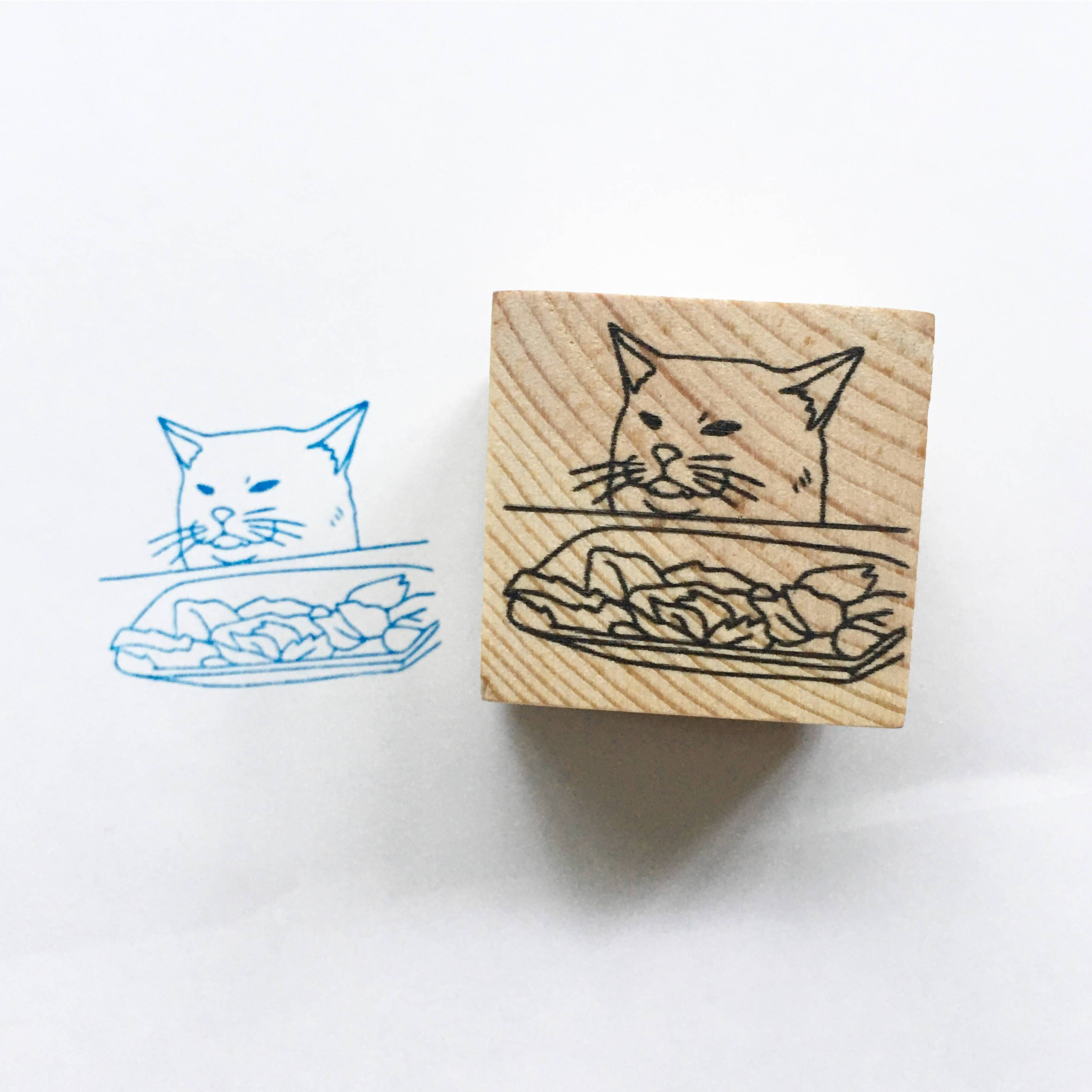 Angry Woman VS Cat Do Not Bend - Funny Clear Jelly Rubber Stamp - Rubber Stamps - Ping Hatta. Studio - Naiise