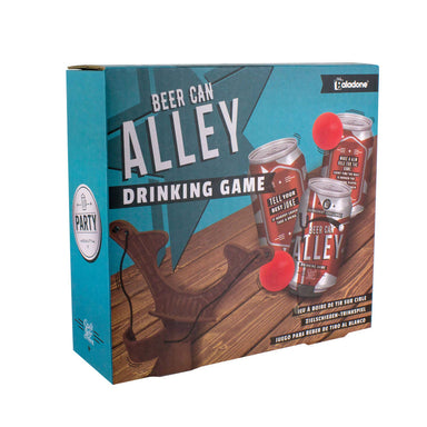 Paladone Beer Can Alley - Card Games - Zigzagme - Naiise