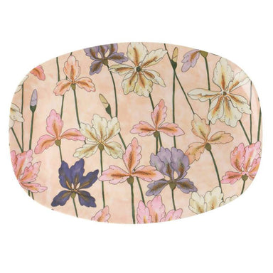 Melamine Rectangular Plate with Iris Print - Kitchenware - The Children's Showcase - Naiise